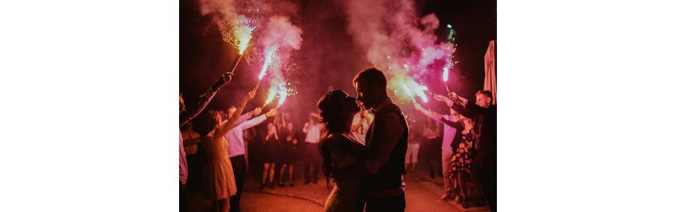 Feu d'artifice pour un Mariage - Par SparkLight